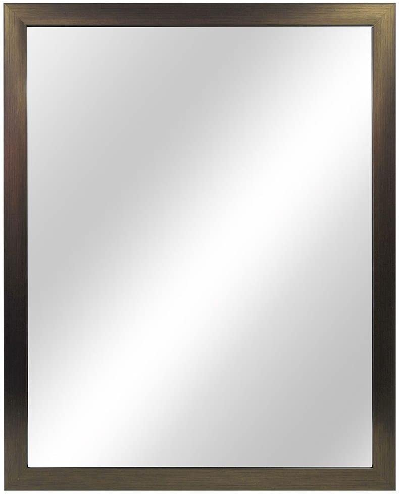 Home Decorators Collection Framed Fog Free Wall Mirror - Oil Rubbed Bronze