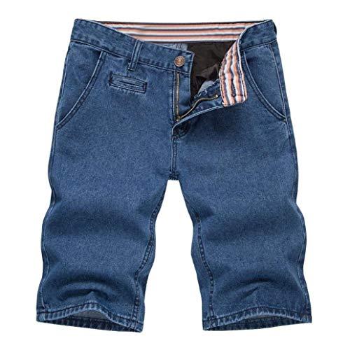 Playa Chicos Pantalones Clásico Vaqueros Pantalones Pantalones Cortos Pantalones La Pantalones Hombres Verano Dunkelblau Pantalones De Los Cortos De De De De De Cortos La Harén Anchos Pierna Mezclilla Los De qqxZf4v8