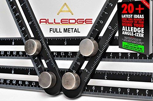 Alledge Angle Izer Template Tool Full Metal Multi Angle Ruler