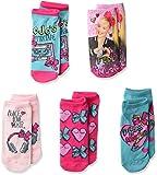 Jojo Siwa girls Jojo Siwa 5 Pack No Show Casual