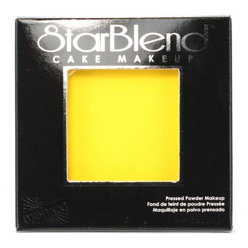 (6 Pack) mehron StarBlend Cake Makeup - Yellow