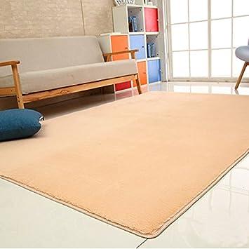 ZJ Carpet Teppichboden Kaninchen Fell Haut Teppich Couchtisch ...