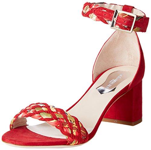 Atelier Mercadal Tracy - tira en talón Mujer Rouge (Treccia 50 Rosso/ Camoscio Rosso)