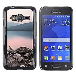 iKiki Tech / Estuche rígido - Nature Calm Lake - Samsung Galaxy Ace 4 G313 SM-G313F