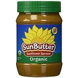 Sunbutter Sunflower Seed Spread Organic Jar (6x16Oz)