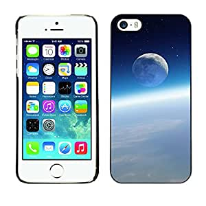 Stuss Case / Funda Carcasa protectora - Blue Moon Above The Clouds - iPhone 5 / 5S