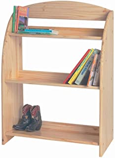 product image for Little Colorado Children Kids Bookcase Storage Organizer Sanded and Unfinished