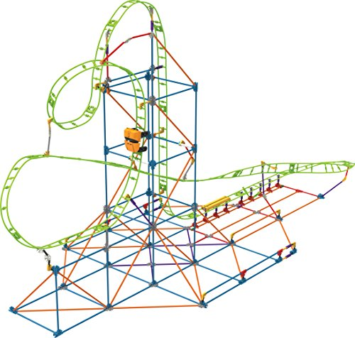 K'NEX Thrill Rides – Infinite Journey Roller Coaster Building Set – 347 Pieces – Ages 7+ – Engineering Educational -