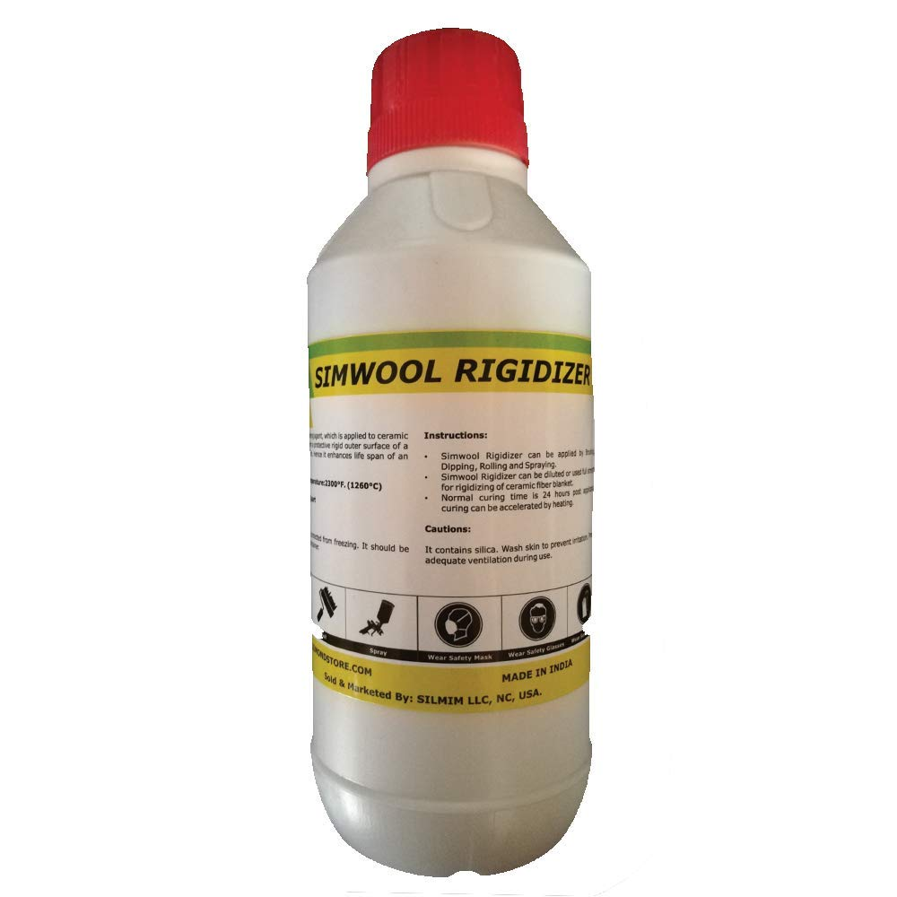 Simwool Rigidizer - Coating for Ceramic Fiber Blanket - 1 Quart by Unknown