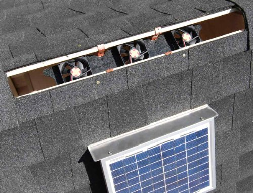 Buy rated solar attic fans