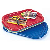 Ecr4kids Non-Slip Tray 5 Piece Set-6 Pack