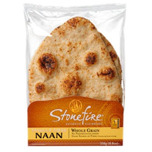 Stonefire Tandoori Naan, Whole Grain (6 pack) -
