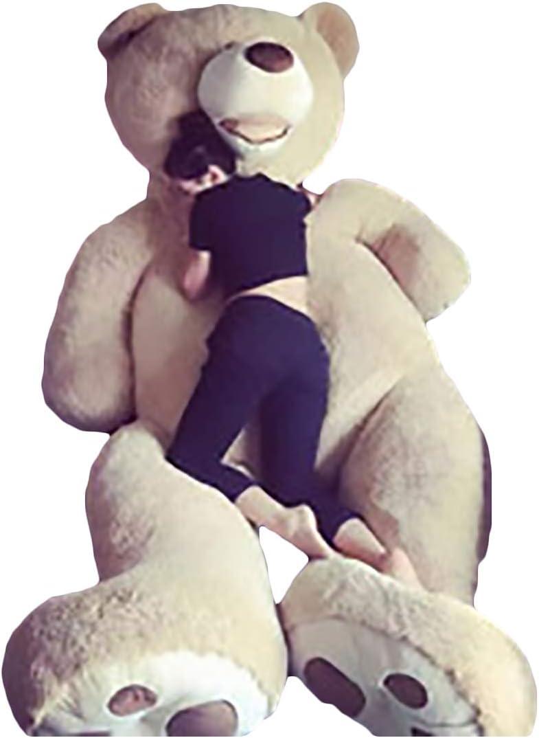 Zhyaj Peluche Gigantes,Body Pillow Teddy Bear De Peluche Hecho a Mano Lindo Diseño Sin Olor Es Una Muñeca De Peluche Felpa Super Suave Y Relleno De algodón PP 100~160CM Es Una Eleccion