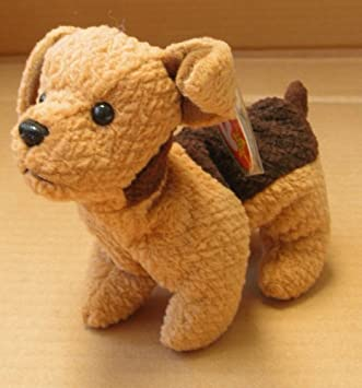 177f69f94b8 TY Beanie Babies Tuffy the Terrier Dog Stuffed Animal Plush Toy - 6 inches  long by SmartBuy  Amazon.co.uk  Toys   Games