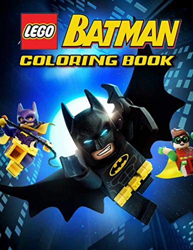- LEGO Batman Coloring Book: 31 Illustrations | Exclusive Book | Great Coloring Pages For Kids | Ages 2-7