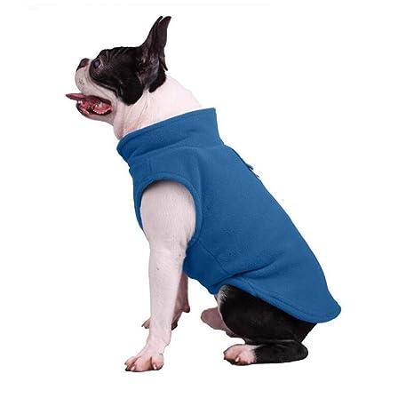 BAONUAN Ropa para Mascotas Ropa De Invierno del Paño Grueso Y Suave del Invierno Ropa Caliente