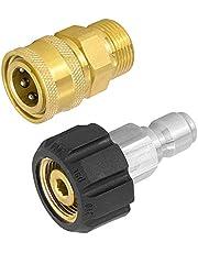 """N /A JINXM Hogedrukreiniger Adapter Quick Disconnect Kit M22 Mannelijke en Vrouwelijke Draad 3/8 """"Snelkoppeling Adapter"""