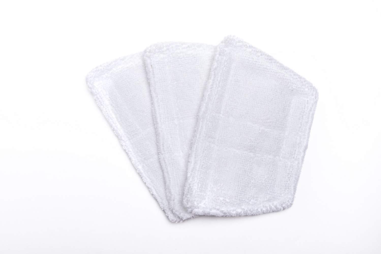 Per per pulitrice a vapore Morphy Richards-Panni per pavimento, confezione da 3 pezzi Green Label