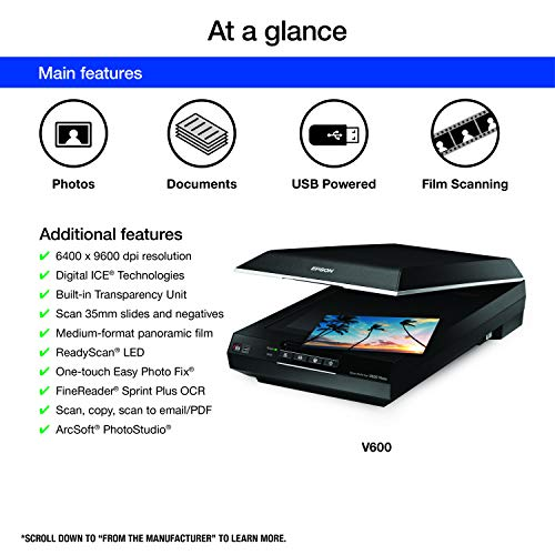 Buy scanner for old photos and documents