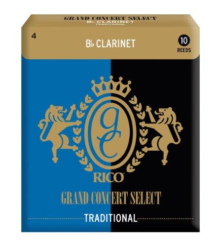 Rico RGC10BCL400(10) Cañas Clarinete en SiBemol