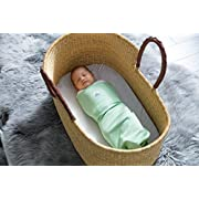 The Ollie Swaddle (Meadow) -Helps to Reduce The Moro (Startle) Reflex - Made from Custom Moisture-Wicking Material
