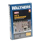 Walthers Cornerstone Vic's Barber Shop Kit