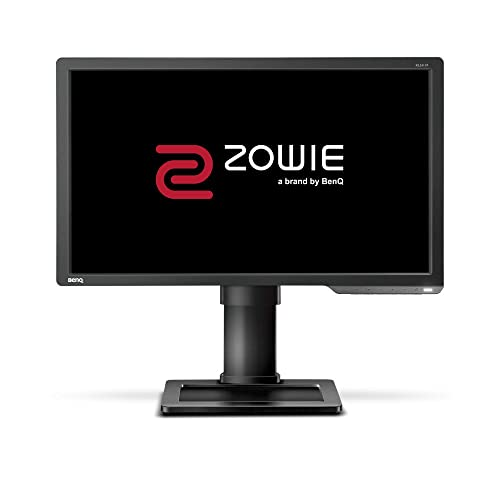 BenQ ZOWIE XL2411P Monitor Gaming para e Sport de 24 Full HD 144Hz con 1ms ajustable en altura y giro Display Port HDMI Flicker free Low Blue Light Gris oscuro