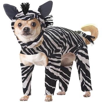 Animal Planet PET20100 Zebra Dog Costume Medium  sc 1 st  Amazon.com & Amazon.com : Hip Doggie Giraffe Dog Costume Onesy Jumper M : Pet ...