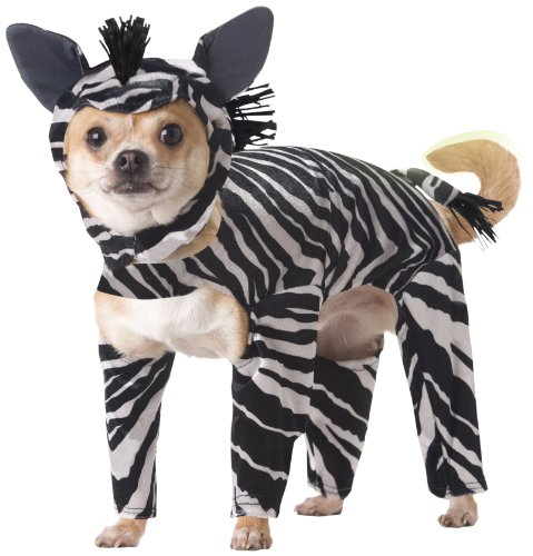 Animal Planet PET20100 Zebra Dog Costume, (Dog Zebra Costume)