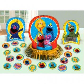Amscan Sesame Street 2 - Table Decorating Kit - Sesame Street 2 Table Decoration Kit