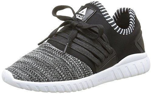 Adulto Unisex black White Lo Area Zapatillas Asfvlt Noir gqBvIcw