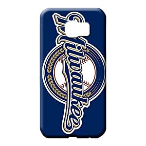 samsung galaxy s6 edge Popular Eco-friendly Packaging fashion cell phone carrying shells milwaukee brewers baseball