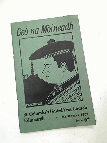 Ceo na Moineadh (Peat Reek) a Luidhearan Dhun-eidinn (from Edinburgh Chimneys. ()