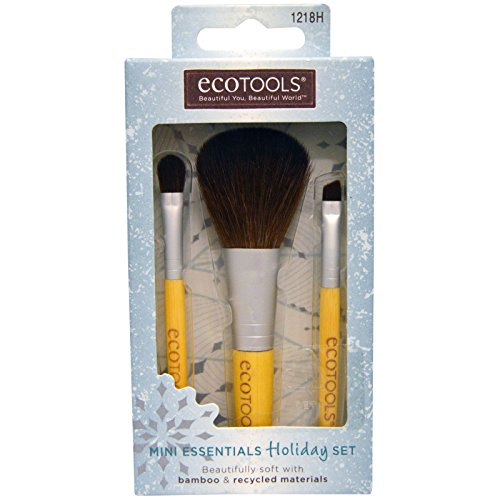 EcoTools, Mini Essentials Set, 3 Brushes