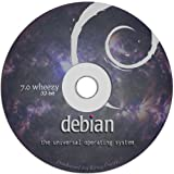 "Debian Linux 7.0 ""Wheezy"" on DVD - Full Live / Install version."