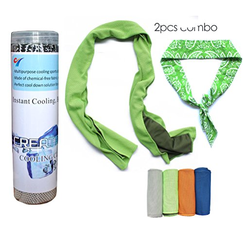 Creatrill Cooling Towel bandana Combo product image
