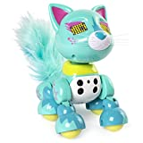 zoomer robot dog for girls - zoomer Meowzies, Lux, Interactive Kitten with Lights, Sounds and Sensors