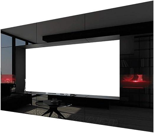 HomeDirectLTD Future 29, Conjunto de Muebles De Salón, Módulo Bajo para TV Y Multimedia, Unidad de Entretenimiento, Mueble TV, Suite a Estrenar (Iluminación RGB LED Opcional) (29_HG_B_1, Azul LED): Amazon.es: Hogar