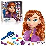 Disney Frozen 2 Anna Styling Head, 14-Pieces