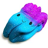 Jumbo Tooth Cake Squishy Scented, Slow Rising Squeeze Toys, Kids Party Gift (Galaxy)