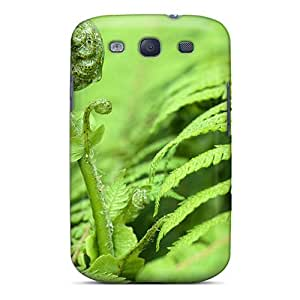 New Style Tpu S3 Protective Case Cover/ Galaxy Case - Baby Fern