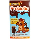Cheap Choc-V's Probiotic with Prebiotic Fiber Sugar Free 1.5 B Microflora Supplement, Milk Chocolate, 40 Count