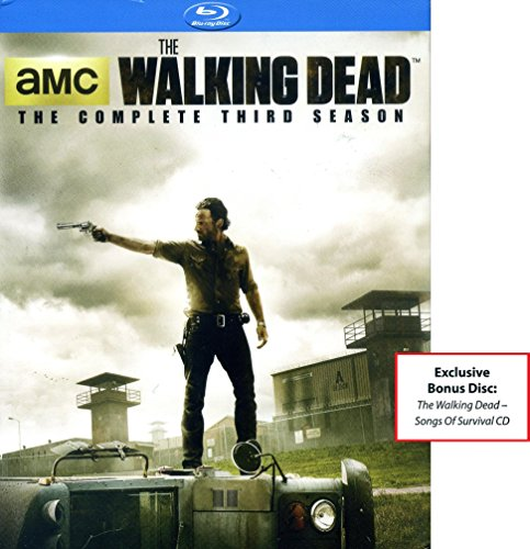 The Walking Dead - The Complete Third Season Blu-Ray With Exclusive Bonus Disc