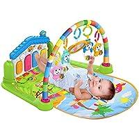SURREAL (SM) 3 en 1 bébé Playgm , play mat , Piano jouer Gym tapis la musique et lumières- Vert