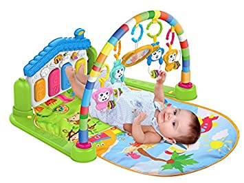 SURREAL (SM) 3 en 1 bébé Playgm , play mat , Piano jouer Gym tapis ...