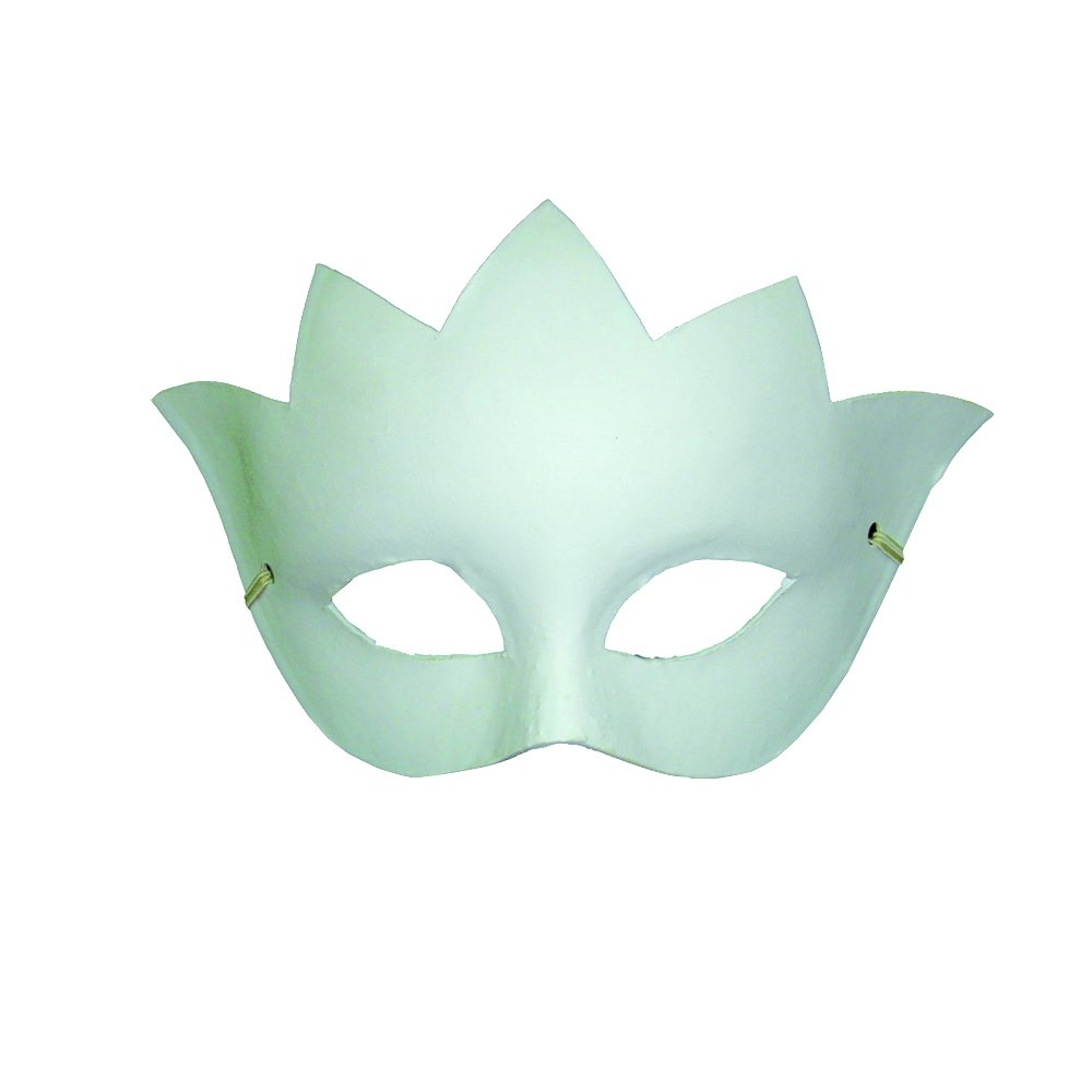 Artemio Venice Crown Plaster Mask to Decorate 14030011