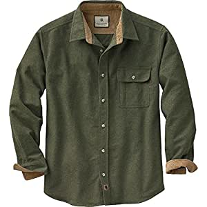 Legendary Whitetails Buck Camp Flannels Army Small