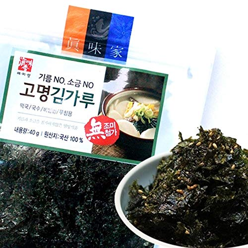 Korean Seaweed Cut 40g x 3, Free Salt and Oil by Samil Food