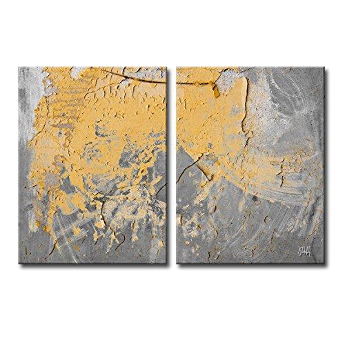 "Ready2HangArt 'Abstract ABS XVI' canvas Wall Art 40"" X 60..."