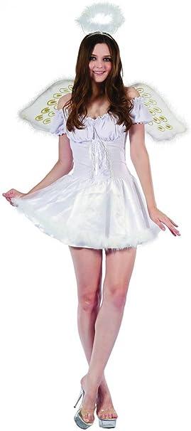 Disfraz ángel mujer S: Amazon.es: Juguetes y juegos
